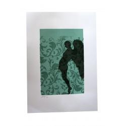 Nafir - Last Kiss - Original stencil number 2