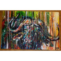Sema Lao - original canvas - bouffle