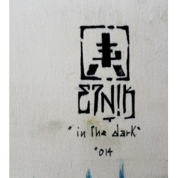 Etnik - Original on wood- in the dark