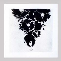 Mcity - Orginal stencil on paper -