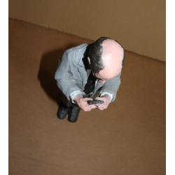Isaac Cordal - Cement Eclipse - II