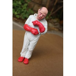 ISAAC CORDAL - Workers 5- original sculpture