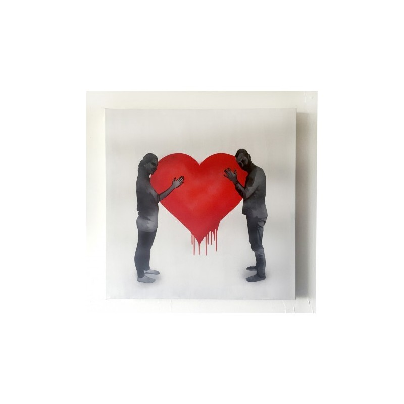 Kunstrasen - Love Love - Canvas