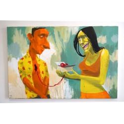 Paulo Ito - Untitled 2 - Canvas