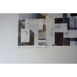 Chazme 718 -Monumental City - limited screen print