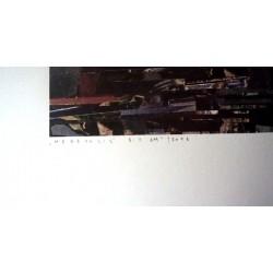 Chazme 718 -Megapolis 8:11 AM - limited screen print