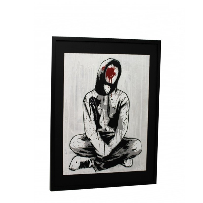Alias - FACELESS II - Original Canvas with frame