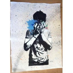 NAFIR - Tear Gas - canvas