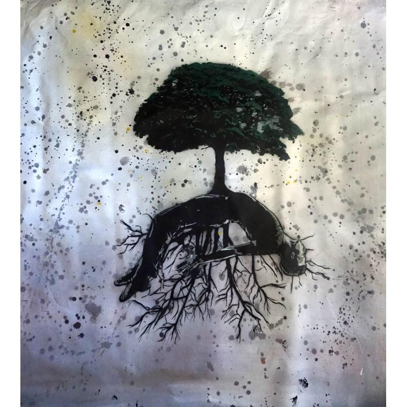 NAFIR - Trees Man - canvas