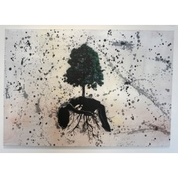 NAFIR - Trees Woman - canvas