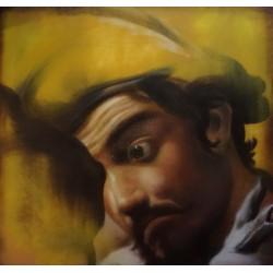 Andrea Ravo Mattoni - Caravaggio - canvas