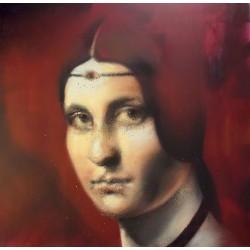 Andrea Ravo Mattoni -  of Leonardo Da vinci 01 - canvas