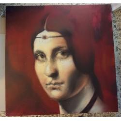 Andrea Ravo Mattoni - Leonardo Da vinci - canvas