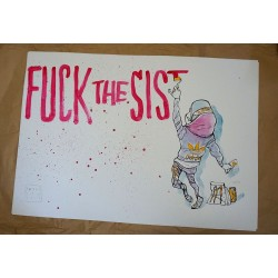 Paulo Ito - fuck the sis - limited and signed