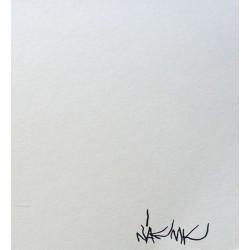 NAF MK - Sacrae Reliquiae - stencil on paper