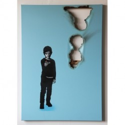 Kunstrasen - A Kid Coul Do That, Or Couldn't it? - Blue edition of 5