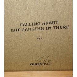 Kunstrasen - FALLING APART BUT HANGING IN THERE - blue edition