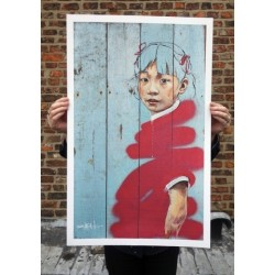 Ernest Zacharevic - Limited Edition signed