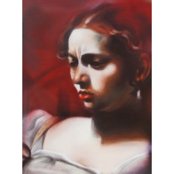 Andrea Ravo Mattoni - Echo of  Caravaggio 03 - Canvas