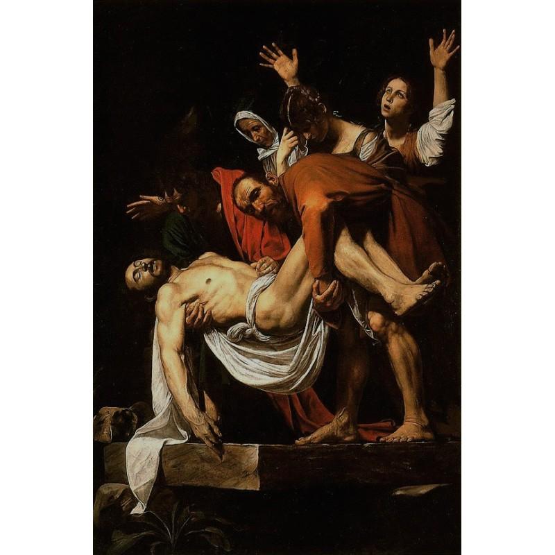 Andrea Ravo Mattoni - Echo of  Caravaggio 05 - Canvas