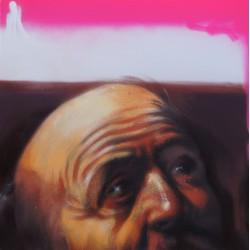 Andrea Ravo Mattoni - Echo of Caravaggio 09 - Canvas