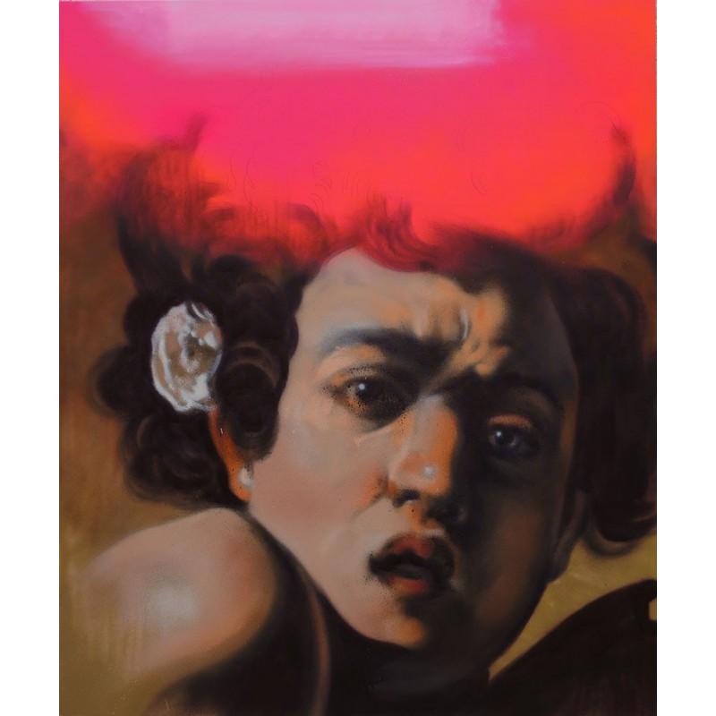 Andrea Ravo Mattoni - Echo of  Caravaggio 10 - Canvas