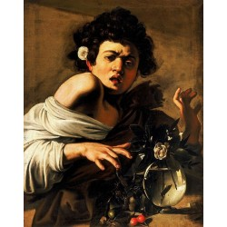 Andrea Ravo Mattoni - Echo of  Caravaggio 11 - Canvas
