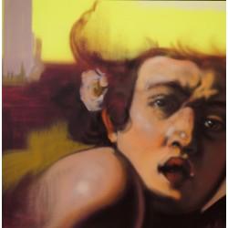 Andrea Ravo Mattoni - Echo of  Caravaggio 11 - Canvas