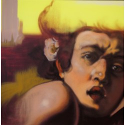 Andrea Ravo Mattoni - Echo of  Caravaggio 12 - Canvas
