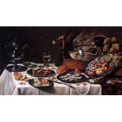 Andrea Ravo Mattoni - Pieter Claesz 01 - Canvas