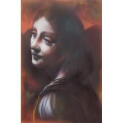 Andrea Ravo Mattoni - Echo of Leonardo da Vinci 02 - Canvas