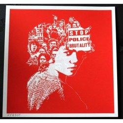 Icy & Sot - Stop Police Brutality - limited screen print
