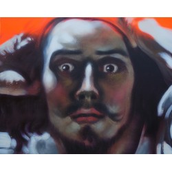 Andrea Ravo Mattoni - Echo of Gustave Courbet 01 - Canvas