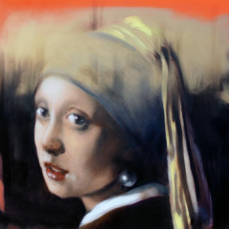 Andrea Ravo Mattoni - Echo of Vemeer  01 - Canvas