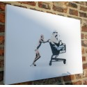 Kunstrasen - ONE FOR ALL, ALL FOR NOTHING - canvas