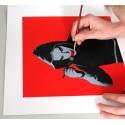 kunstrasen - Art Makes me Happy - hand finish