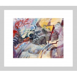 PICHIAVO - Bacco - giclee fine art edition -limited to 18