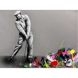 MARTIN WHATSON - Golfer - canvas