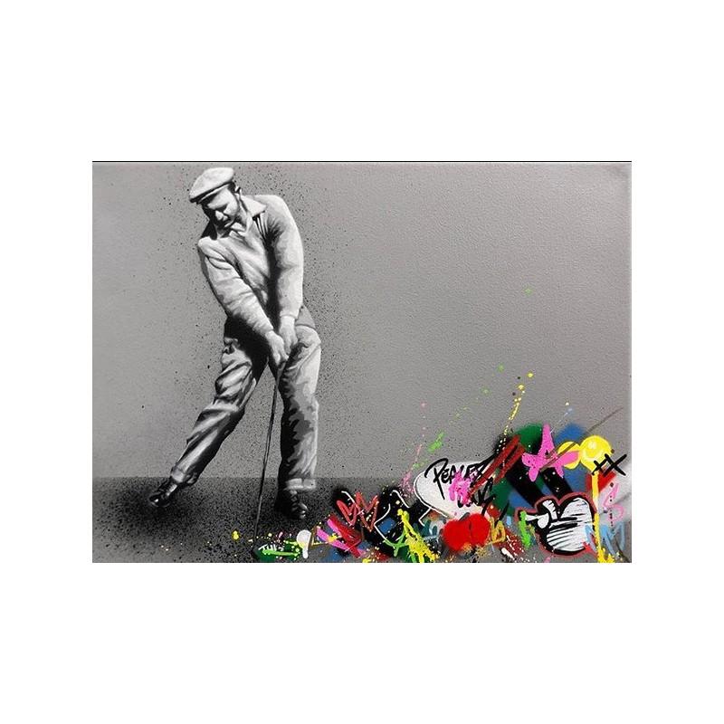 MARTIN WHATSON - golf - canvas