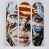 SANDRA CHEVRIER - Skate Triptich - CONTACT US FOR ENQUIRY