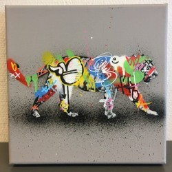 MARTIN WHATSON - Tiger - canvas