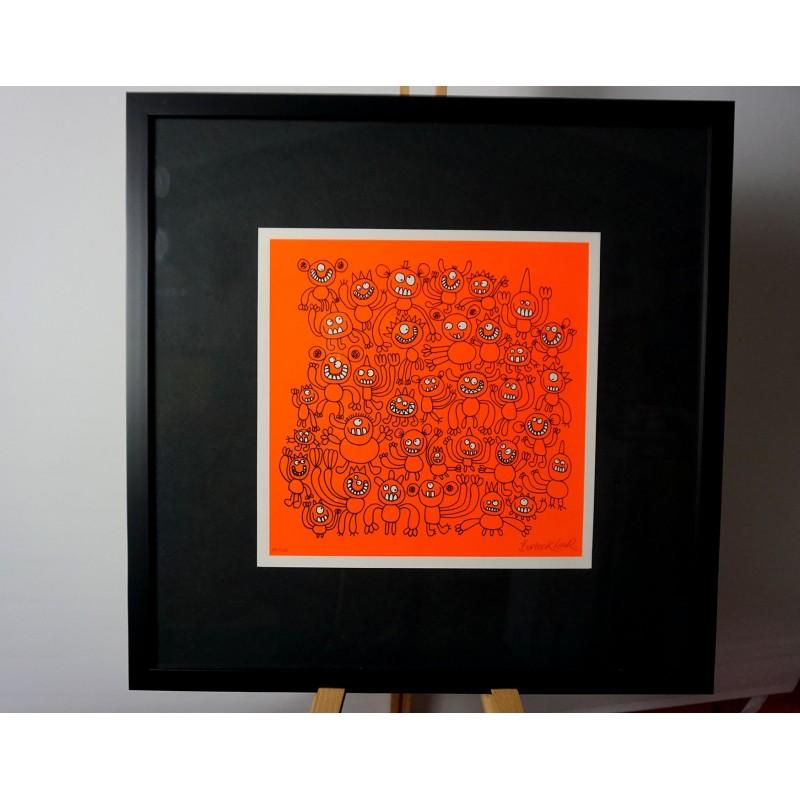 Bortusk Leer - limited rare and framed