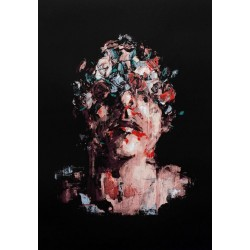 Borondo - limited screen print - CONTACT US FOR ENQUIRY