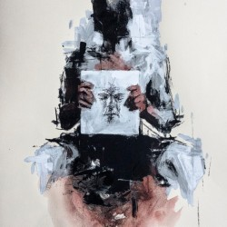 Borondo - ON WOOD - IDENTITY - CONTACT US FOR ENQUIRY