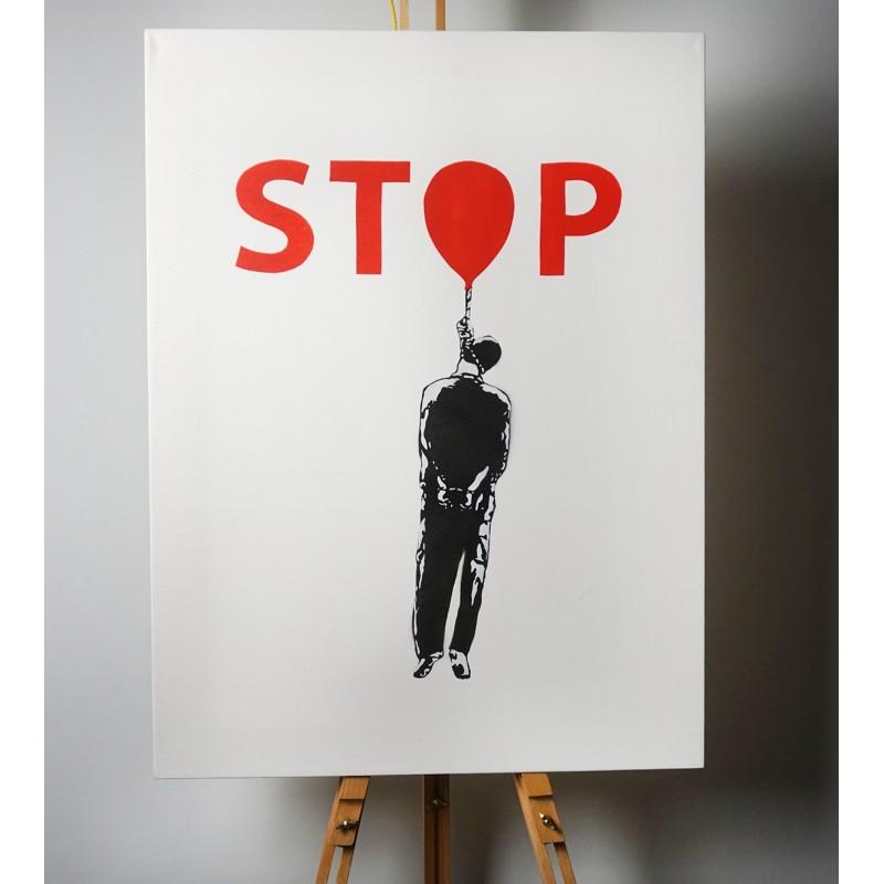 FRZ - STOP - canvas