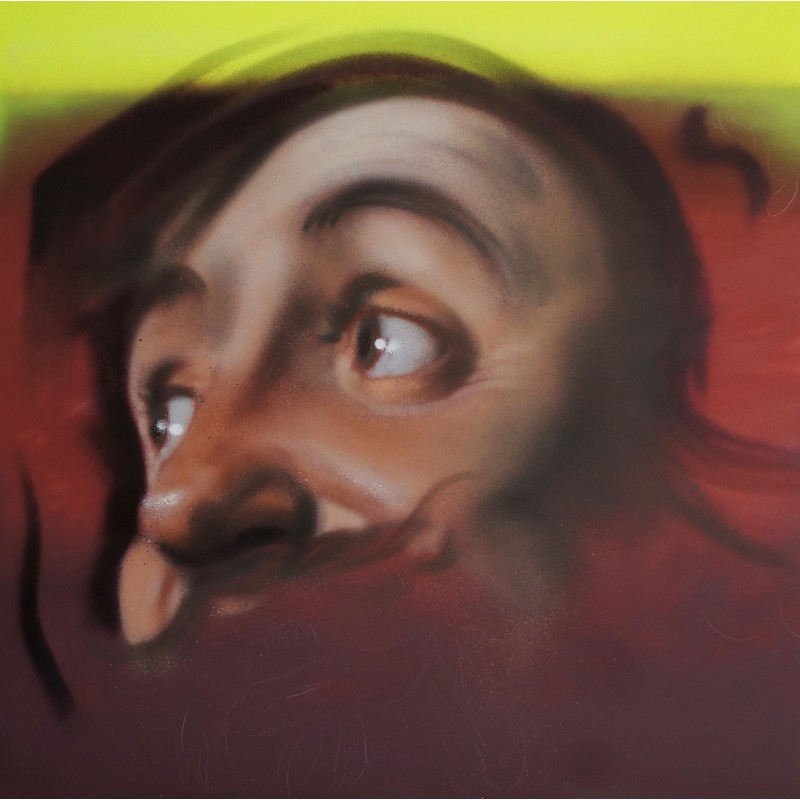Andrea Ravo Mattoni -  Echo of Gerard Van Honthorst 02 - canvas