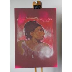 Andrea Ravo Mattoni - Sketch - Echo of Eugene Delacroix-