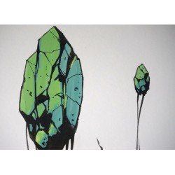 Deih - unique on paper - untitled