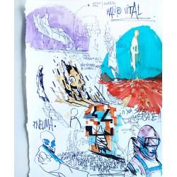 Deih - Sketch n. 12 -  unique
