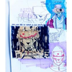 Deih - Sketch n. 9 -  unique
